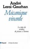 Mécanique vivante - Le crâne des Vertébrés, du Poisson à l'Homme -  Par André Leroi-Gourhan  - Sciences de la terre  - LEROI-GOURHAN André - Libristo