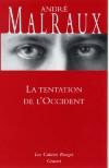 La tentation de l'Occident  - MALRAUX André - Libristo