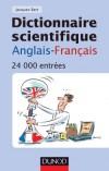 Dictionnaire scientifique anglais-français  - 24 000 entrées - Jacques Bert - Langues, tous domaines scientifiques - Bert Jacques - Libristo