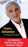 Temps des avants (le) - AZNAVOUR Charles - Libristo