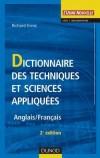 Dictionnaire des techniques et sciences appliquées - 2ème édition - Anglais/Français - Ernst Richard - Libristo