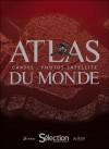 Atlas du Monde - Cartes et photos satellite - Ouvrage de référence accessible à toute la famille - Monde, atlas, pays - Collectif - Libristo