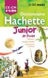 Dictionnaire Hachette junior poche - Conforme aux programmes scolaires et écrit en collaboration avec des enseignants - Langues, français - Collectif - Libristo
